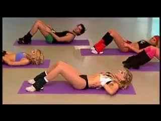美女教你健身 200下蹲打造迷人曲线