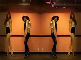 韩国现代舞 女主播 黑丝超短裙美女热舞