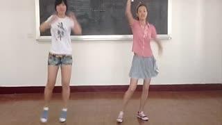 清新美女小苹果完整版舞蹈模仿