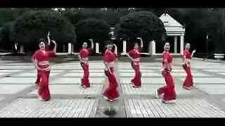 广场舞印度舞印度美女
