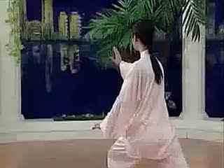 24式简化太极拳带口令(吴阿敏)--华数TV