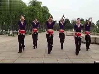广场舞 印度舞 桑巴舞背面演示