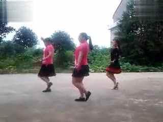 华梦广场舞 印度美女