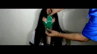 韩国美女实验被胶带封嘴