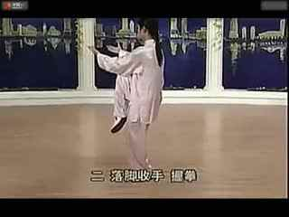 太极拳24式视频带口令