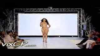法国内衣秀 性感透明 极品美女t台秀