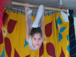 外国柔术软功训练 柔术美女视频