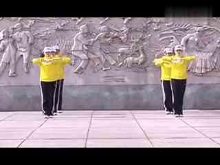 鸡西第三套行进视频教程有氧健身操早操教学教剪碎男发健美视频图片
