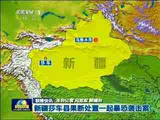 新疆莎车县果断处置一起暴恐袭击案图片