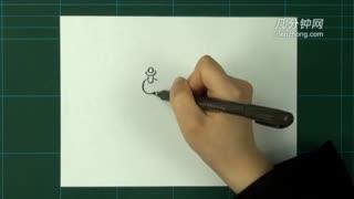 卡通简笔画之按压式水龙头