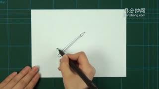 卡通简笔画之自动铅笔