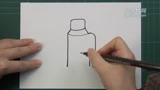 卡通简笔画之小风车--华数tv