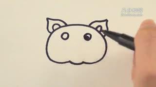 简笔画之猪