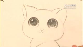 卡通简笔画之兔子收纳盒