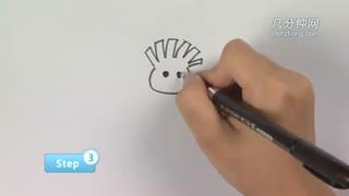 简笔画之如何画小孩儿