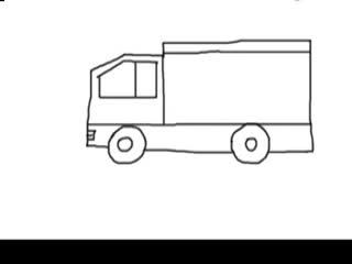 简笔画汽车 儿童简笔画汽车