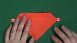 儿童折纸大全 四色投掷镖的折法 回旋镖的折法