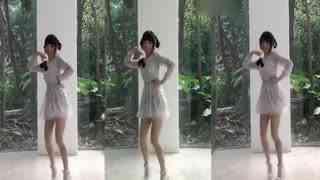 筷子兄弟小苹果舞蹈:可爱美女单人自拍版 神同步