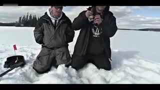 钓鱼技巧 逆天老外冰钓大鱼--华数TV