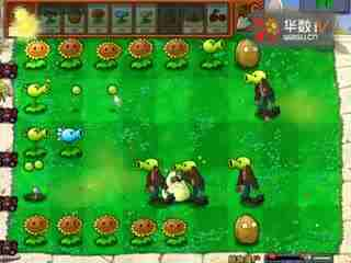植物大战僵尸迷你游戏第一期 植物僵尸、坚果保龄球模式和老虎机