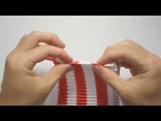 折纸大全 DIY手工折纸立体3D孔雀开屏折法2图片
