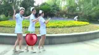 长腿mm领舞小苹果舞蹈视频