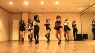 少女时代舞蹈教程