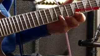 左轮吉他电吉他入门教学图片