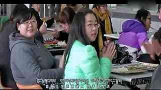 藏语版《喜欢你》 藏族美女惊艳整个藏大食堂!