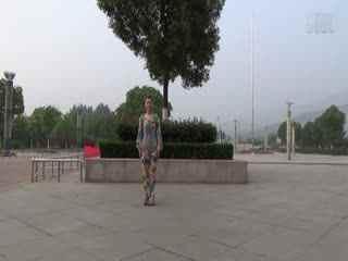 阿梅广场舞教学:夜场情歌