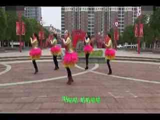 阿梅广场舞教学:小鸡小鸡