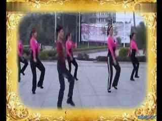 博白广场舞教学:我的九寨