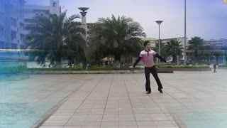 博白广场舞教学:中国范儿