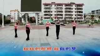 博白广场舞教学:山里红