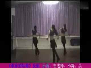 博白广场舞教学:谁家的姑娘 背面
