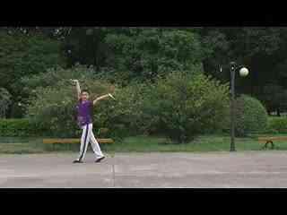 博白广场舞教学:我的蒙古我的家 背面演示