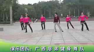 博白广场舞教学:中国style