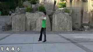 博白广场舞教学:偷心的郎 背面