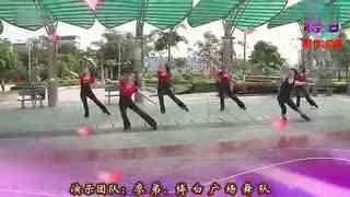 博白广场舞教学:莲的心事