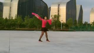 阿文贝贝广场舞教学:上海滩