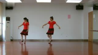 阿文贝贝广场舞教学:藏鹰