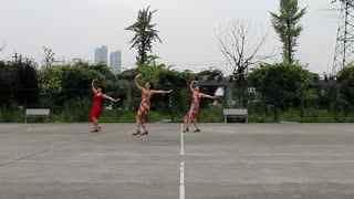 阿文贝贝广场舞教学:唐古拉