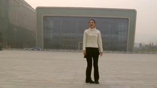 阿文贝贝广场舞教学:月亮湖畔 分解演示