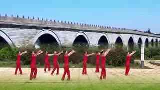 春英广场舞 跳到北京