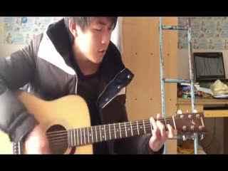 视频爸爸教学初学者《再见》吉他弹唱吉他高抢吉他视频图片