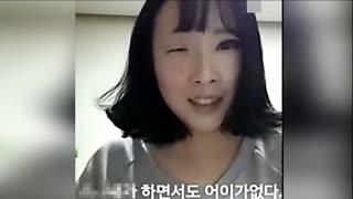 :美女卸妆超惊吓
