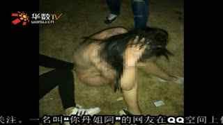 日本高中女生打架扒衣
