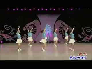 杨艺广场舞 触电 背面