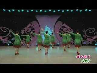 杨艺广场舞 我的家乡内蒙古 背面演示