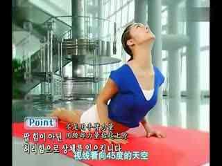 减肥瑜伽初级教程减肥华数瘦腰瘦肚子--瑜伽TV演相法详解图片
